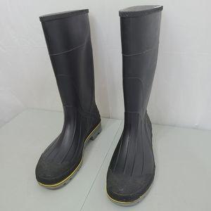 Chemical-Resistant Steel Toe Rain Boots